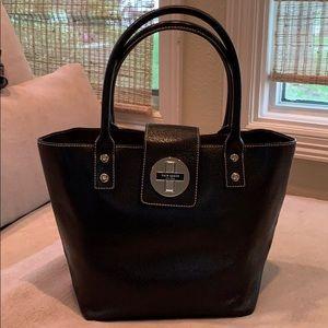 Kate Spade leather bucket bag